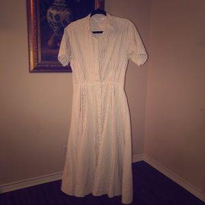 Lands End Gorgeous classic dress Sz 10p